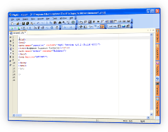 Code generated by PHP and HTML WYSIWYG