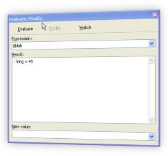 Php Debugger Evaluate/Modify