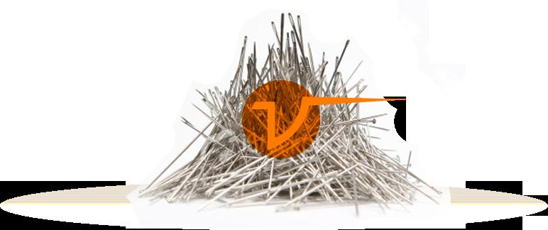 Needles in a haystack
